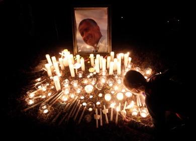 Vigil for crew members of El Faro